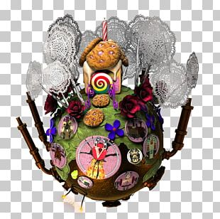 LittleBigPlanet 2 Bathysphere Invention Curator Christmas Ornament PNG