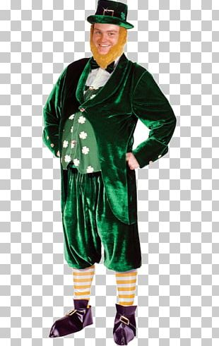 Saint Patrick's Day Leprechaun Costume Party PNG