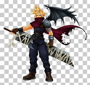 Final Fantasy VII Kingdom Hearts Coded Cloud Strife Kingdom Hearts II Kingdom Hearts: Chain Of Memories PNG