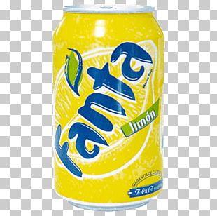 Fizzy Drinks Coca-Cola Fanta Diet Coke Lemon PNG