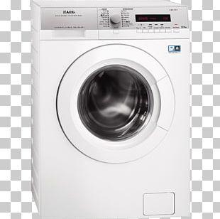 AEG L72475FL Vrijstaand Voorbelading 7kg 1400RPM A+++ Wit Wasmach Washing Machines AEG Lavamat L72675FL AEG L76680NWD PNG