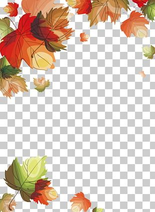 Autumn Leaves Euclidean Leaf PNG