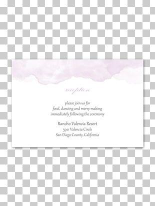 Wedding Invitation Pink M Convite PNG