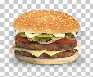Hamburger Cheeseburger Fried Chicken Chicken Patty Fast Food PNG