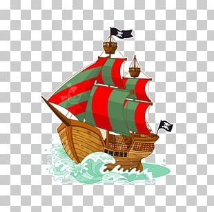 Paper Piracy Boat Sticker Ship PNG