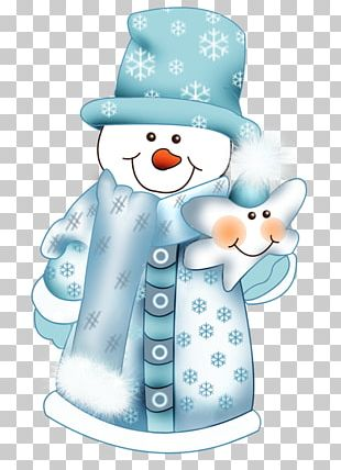 Snowman Christmas Day Illustration PNG
