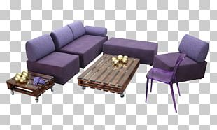 Sofa Bed Furniture Couch Chair Loveseat PNG