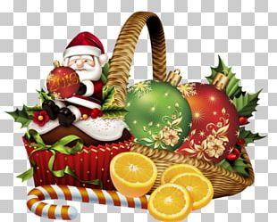 Christmas Ornament Gift Santa Claus PNG