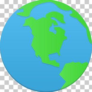Grass Area Globe Sky PNG