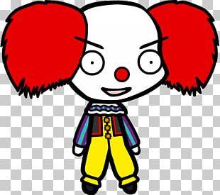 It Drawing Cartoon Clown Character PNG