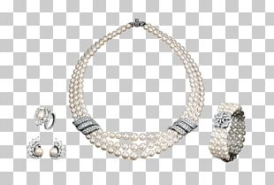 Van Cleef & Arpels Jewellery Necklace Pearl Bitxi PNG
