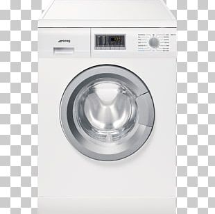 Washing Machines SMEG Combo Washer Dryer Home Appliance PNG