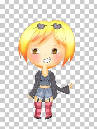 Figurine Human Hair Color Cartoon Desktop PNG