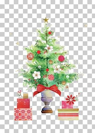 Christmas Tree Santa Claus Christmas Ornament Christmas Decoration PNG