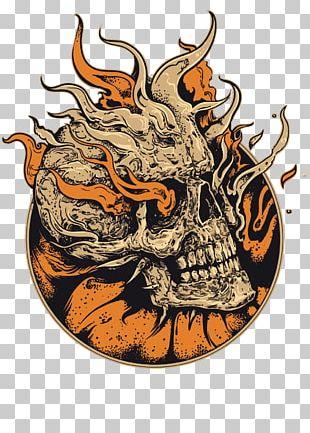 Human Skull Symbolism Skull Art Illustration PNG