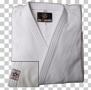 Judogi White International Judo Federation Kimono PNG