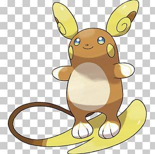 Pokémon Sun And Moon Pikachu Raichu Alola PNG