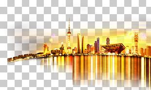 Oriental Pearl Tower Poster City Silhouette PNG
