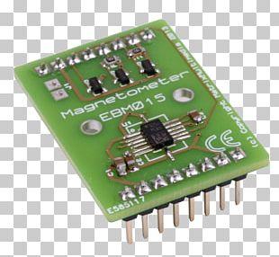 Microcontroller Sensor Magnetometer Gyroscope Electronic Component PNG