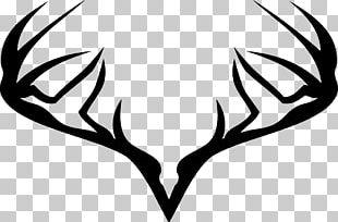Deer Moose Elk Logo Hunting PNG