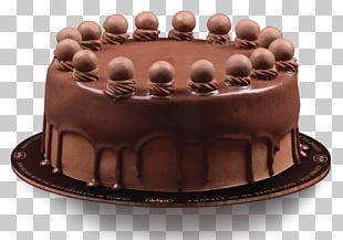 Chocolate Cake Bakery Sachertorte Chocolate Truffle PNG