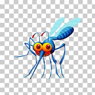 Mosquito Control Insect Repellent Cartoon PNG