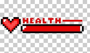 Health Minecraft Pixel Art Video Game PNG