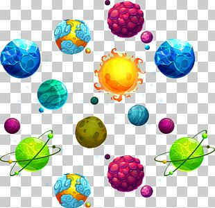 Planet Star Outer Space PNG