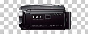 Camera Lens Video Cameras 1080p Sony Handycam HDR-PJ670 PNG