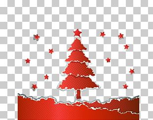 Christmas Tree Euclidean Pattern PNG
