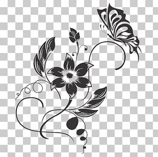 Graphics Decorative Arts Wall Decal Ornament Floral Design PNG