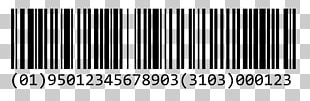 Barcode GS1-128 Code 128 International Article Number PNG