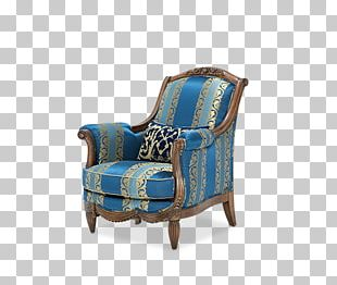 Wing Chair Furniture Living Room Wood PNG
