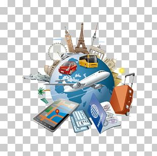 Tourism Travel Illustration PNG