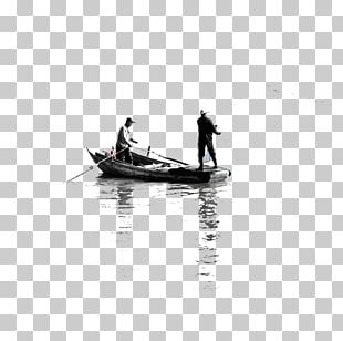 Black And White Water Recreation PNG