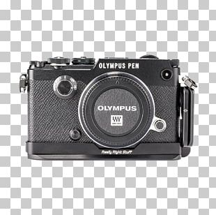 Mirrorless Interchangeable-lens Camera Camera Lens Photographic Film Lens Cover Really Right Stuff BOPF L-SET L-Plate For Olympus PEN-F PNG
