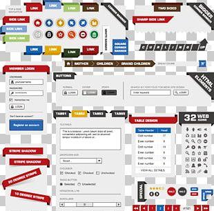 Web Design Web Page PNG