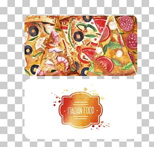 Pizza Fast Food Italian Cuisine Business Card Restaurant PNG