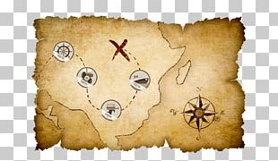 Treasure Map Stock Photography PNG