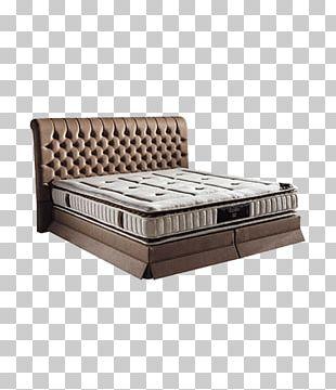 Bed Frame Mattress Box-spring Headboard PNG