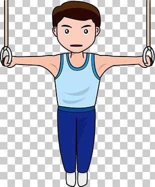 Gymnastics Sport Cartoon Drawing Arm PNG