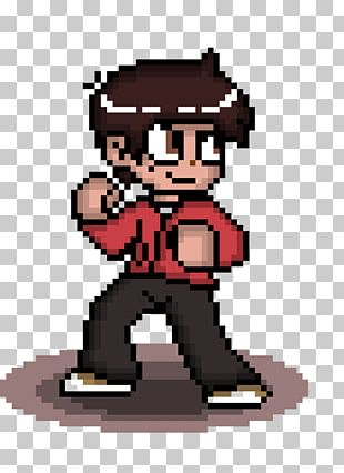 Marco Diaz Pixel Art Scott Pilgrim PNG