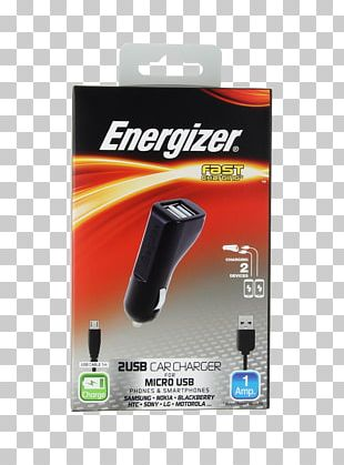 Battery Charger Mobile Phone Accessories Energizer IPhone USB PNG