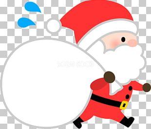 Santa Claus Christmas Cartoon PNG