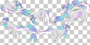 Horse Line Art Sketch PNG