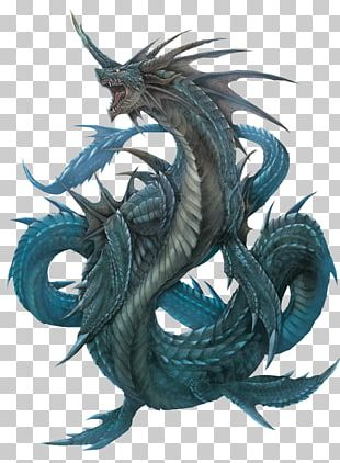 Legendary Creature Sea Monster Dragon Leviathan PNG