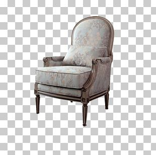 Club Chair Couch Living Room PNG