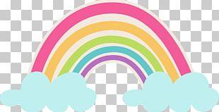 Rainbow Cloud Arc PNG