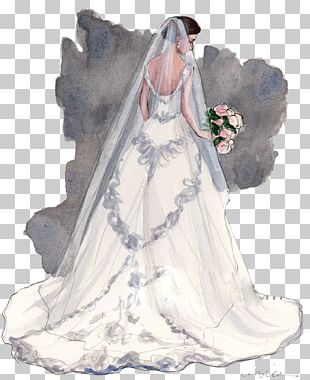 Bride Wedding Drawing Illustration PNG