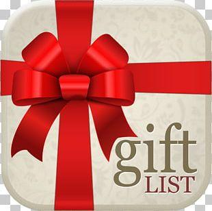 Gift Card Wish List Christmas Wedding PNG